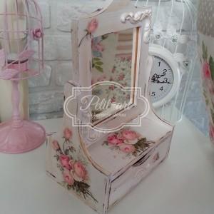 Toaletka Róże Shabby Chic