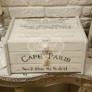09 Piękny stylowy chlebak Cafe Paris