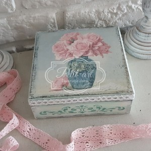 99 Szkatułka Róże Vintage