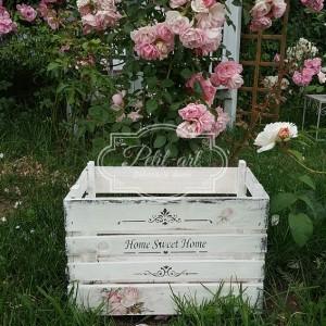 107 Róże Duża Skrzynka na kwiaty, do ogrodu