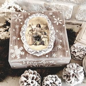 135 Świąteczne pudełko Retro