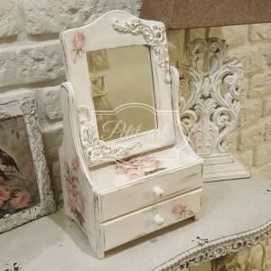 173 Piękna Toaletka róże shabby chic
