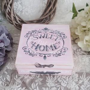 204 Różowa Herbaciarka Pudełko