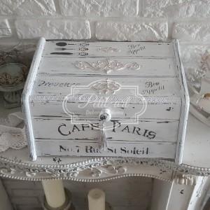 208a Piękny Stylowy Chlebak Cafe Paris