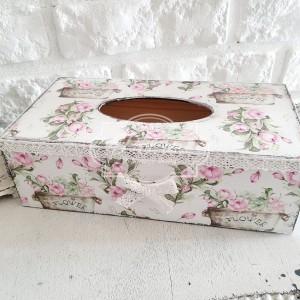 311 Chustecznik różany różyczki shabby chic, angielski styl